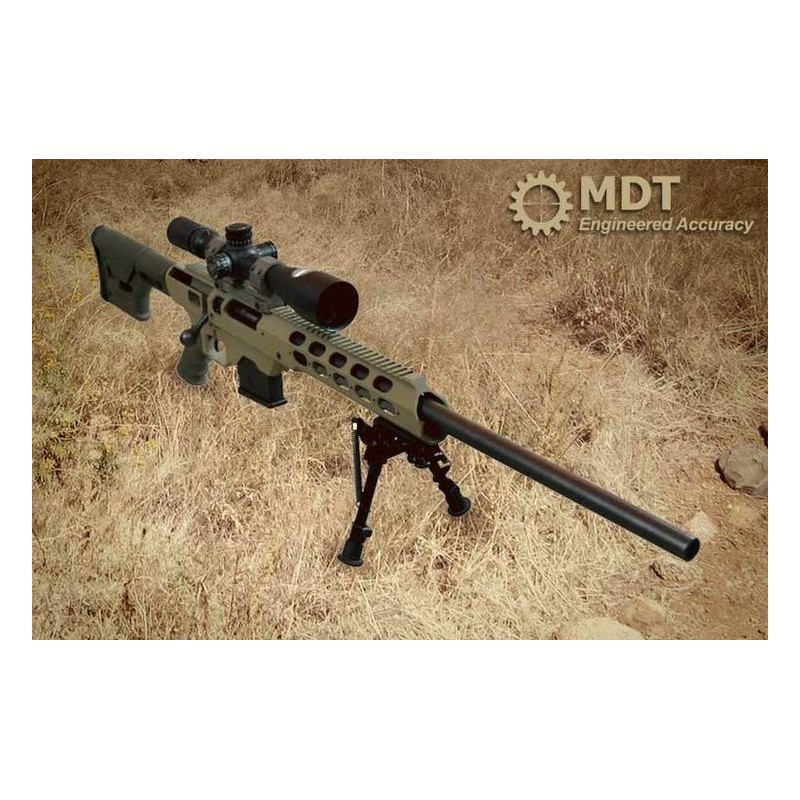 MDT TAC21 Chassis Savage Long Action Rifle - Raven1Tactical