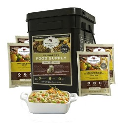 Wise Foods Grab and Go Bucket Entrée Only, 60 Servings