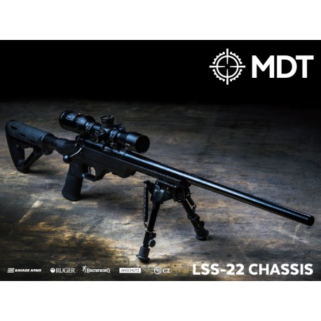 MDT LSS-22 Chassis Browning T-Bolt Rimfire - Raven1Tactical