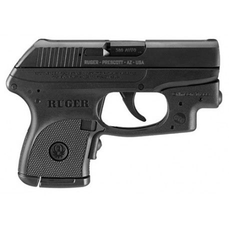RUGER LCP-CT 380ACP BLK 6RD D/A CT-LASER